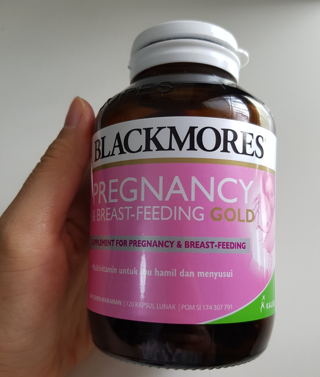 Review Blackmores Pregnancy Breastfeeding Gold